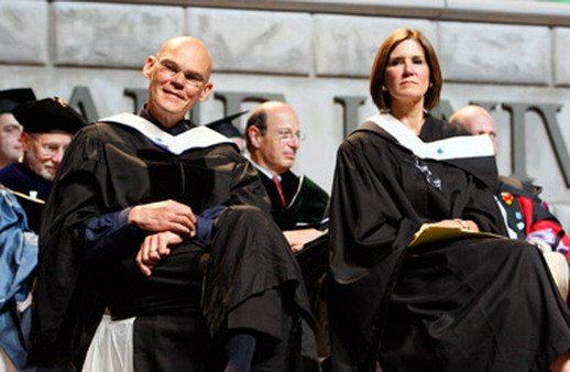 James Carville and Mary Matalin at a