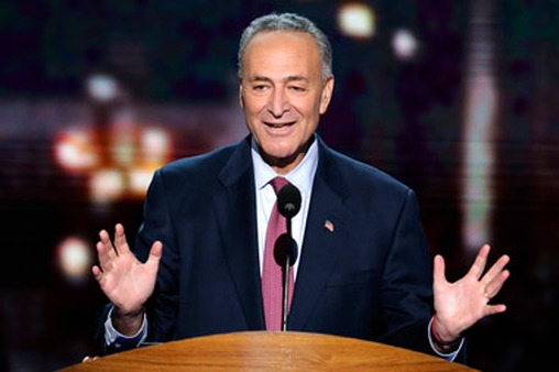 Sen. Schumer speaking at the Democratic convention in September. (Photo: AP)
