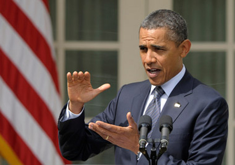 President Barack Obama has upped his revenue target as fiscal cliff negotiations are set to start. (Photo: AP)