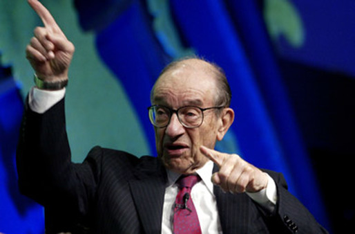 Former Fed Chief Alan Greenspan. (Photo: AP)