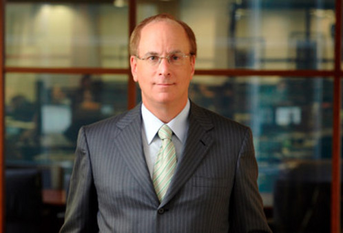 Larry Fink, CEO of BlackRock.