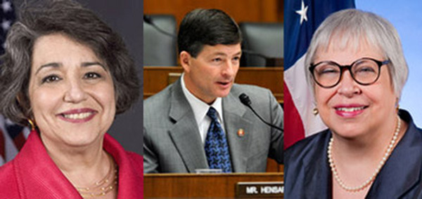 Big 3: Elisse Walter, Rep. Jeb Hensarling and Phyllis Borzi.