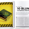 Tom Giachetti's 10 Blunt Compliance Warnings
