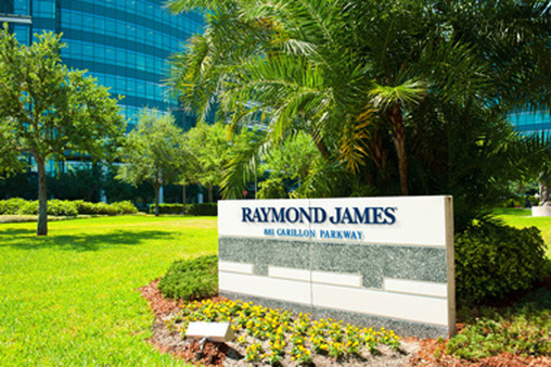 Raymond James headquarters in St. Petersburg, Fla.