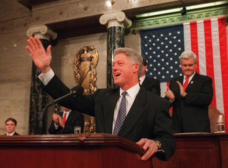 Bill Clinton's State of the Union in 1997. See what he said in 1994. (Photo: AP)