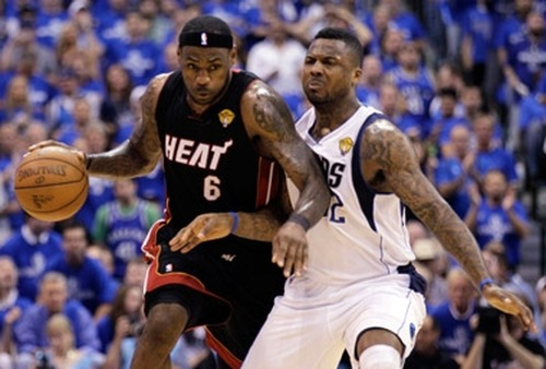 LeBron James of the Miami Heat (not necessarily an Octagon client). (Photo: AP)