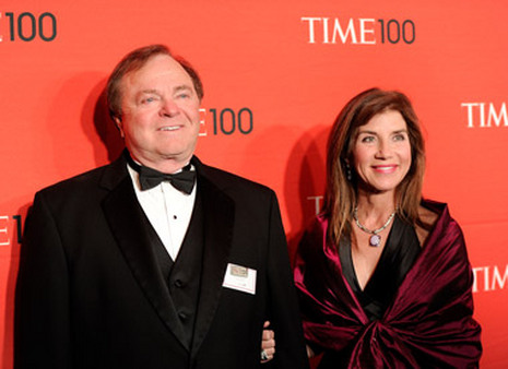 Harold and Sue Ann Hamm at the Time 100 gala last April. (Photo: AP)