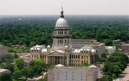 Illinois State Capitol in Springfield. (Photo: AP)