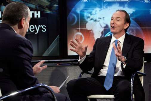 Morgan Stanley CEO James Gorman on Fox Business Network. (Photo: AP)