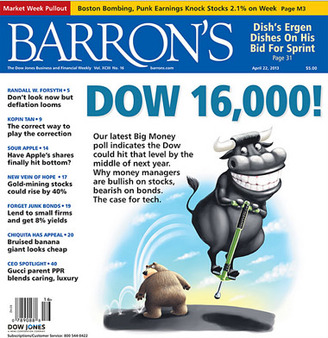 Cover of this week's Barron's.