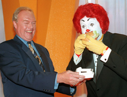 This clown made someone a lot of money. (Photo: AP)