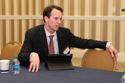 Sean Walters at a previous IMCA conference.