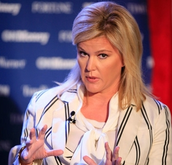 "At IMCA conference, Meredith Whitney said doom and gloom tag drove her ""crazy."" (Photo: AP)"