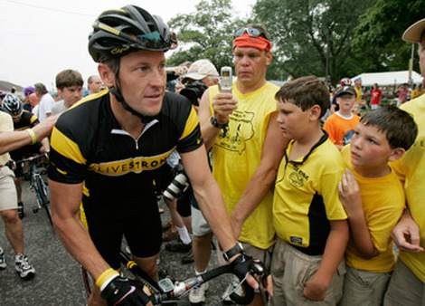 Lance Armstrong (Photo: AP)