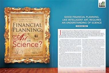 Financial Planning: Art or Science? | ThinkAdvisor