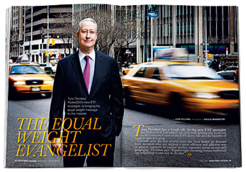 "Tony Davidow, ""The Equal Weight Evangelist,"" from the April 2011 issue of Investment Advisor."