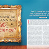 Financial Planning: Art or Science?