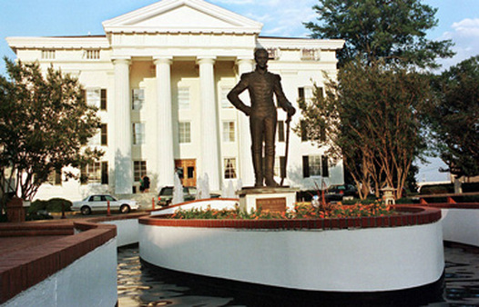 City Hall in Jackson, Miss. (also a county seat). (Photo: AP)