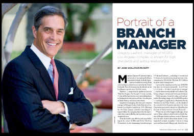 Portrait of a Branch Manager | ThinkAdvisor