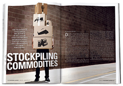 Stockpiling Commodities, Investment Advisor, June 2011