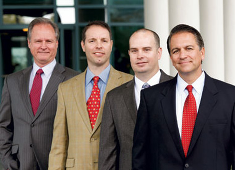 (l-r) David Lee, David Patchen, Kirk Bell and Bill Counsman are working to bring out the best in RJFS advisors.