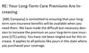 Long-Term Care Insurance Benefits Cut Panel Drafts Principles