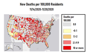White House Task Force Sees COVID-19 Death Rate Climbing