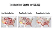 Task Force Adds Intensity Level to COVID-19 Death Map