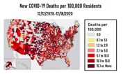 Task Force Reports COVID-19 Death Rate Increase