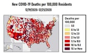White House Advisors Report COVID-19 Death Rate Decrease
