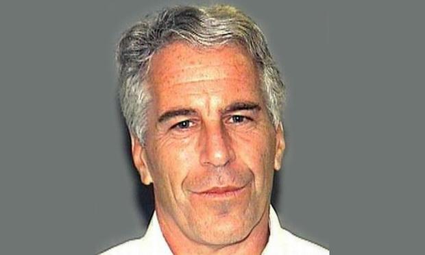 Jeffrey Epstein's 2011 police mug shot.