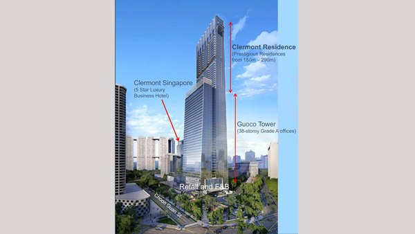 Clermont Residence Singapore Average Price Per Square Foot 2 360 47 Million Agent Savills Is Perched Atop The