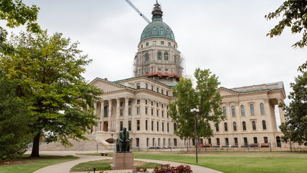 The Kansas State Capitol Building, in Topeka (Photo: Shutterstock)