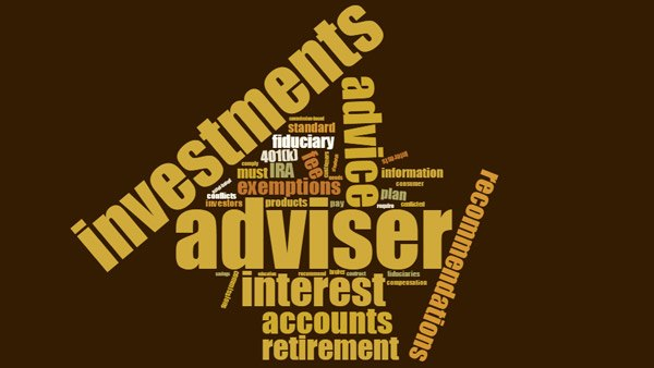 DOL Fiduciary Rule word cloud