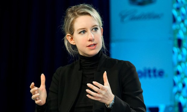 Elizabeth Holmes, CEO of Theranos. (Photo: Krista Kennell/Shutterstock)