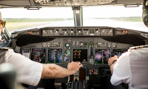 Pilot Cockpit Jet