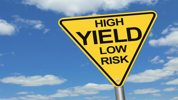 High yield low risk sign