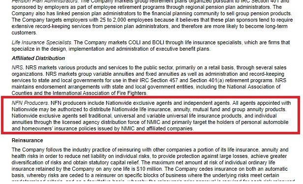 Part of an S-1 for a Nationwide annuity