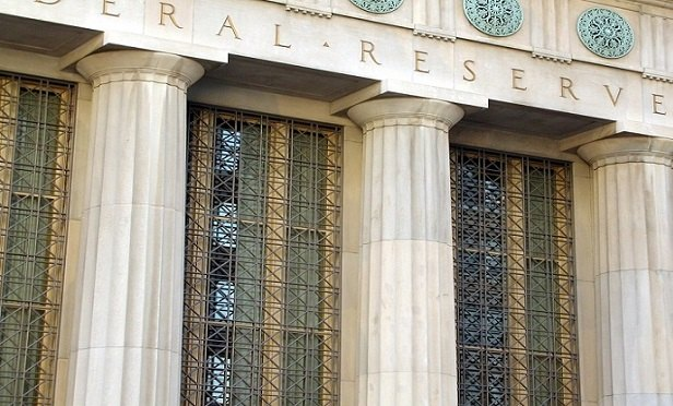 Federal Reserve building detail