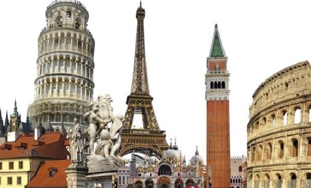 European landmarks (Image: Thinkstock)
