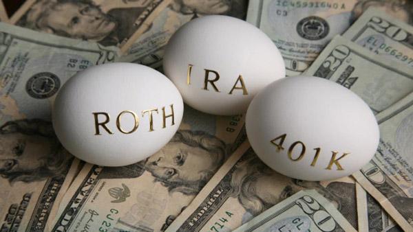 Roth IRA 401(k)