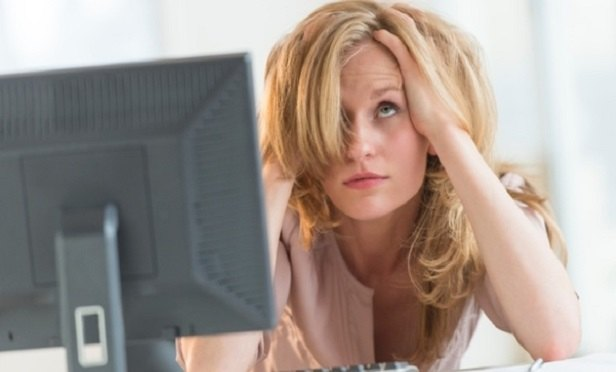 Stressed woman (Photo: iStock)