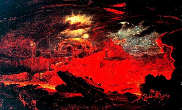 Fallen Angels in Hell (Image: John Martin/Wikimedia Commons Public Domain)