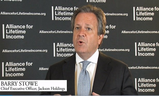 Jackson Backs New Lifetime Income Alliance With Video