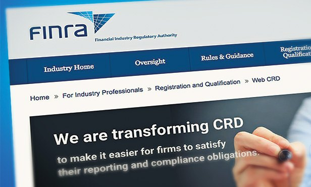 FINRA Revs Up CRD, BrokerCheck Overhaul | ThinkAdvisor