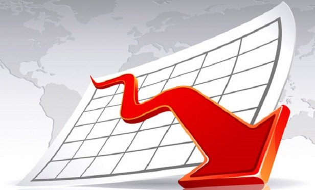 Arrow going down (Image: Shutterstock)