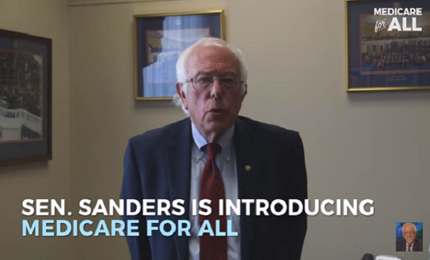 Sen. Bernie Sanders, I-Vt. (Photo: Sanders/YouTube)