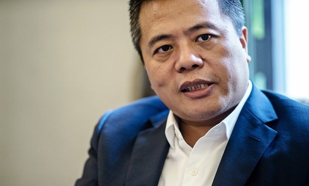 Billionaire Chen Tianqiao, founder and chairman of Shanda Group, speaks during an interview in Singapore, on Friday, June 9, 2017. A dozen years ago, the largest internet company in China wasn't Alibaba or Tencent, but game developerShandaInteractive Entertainment Ltd.Its founder wasChen, who had become a billionaire at 30. Photographer: Sanjit Das/Bloomberg