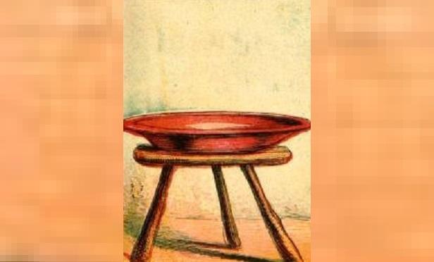 Stool (Image: Wikimedia Commons Public Domain)