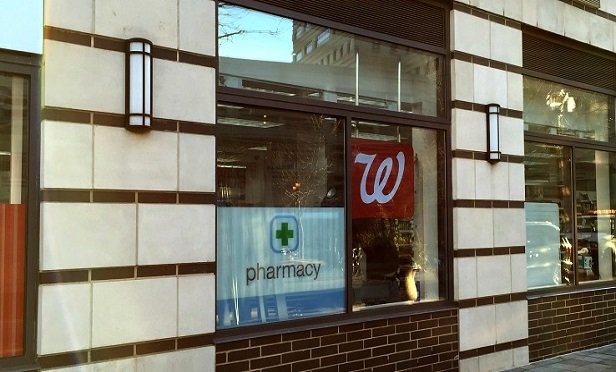 A Walgreens Duane Reade store in Jersey City